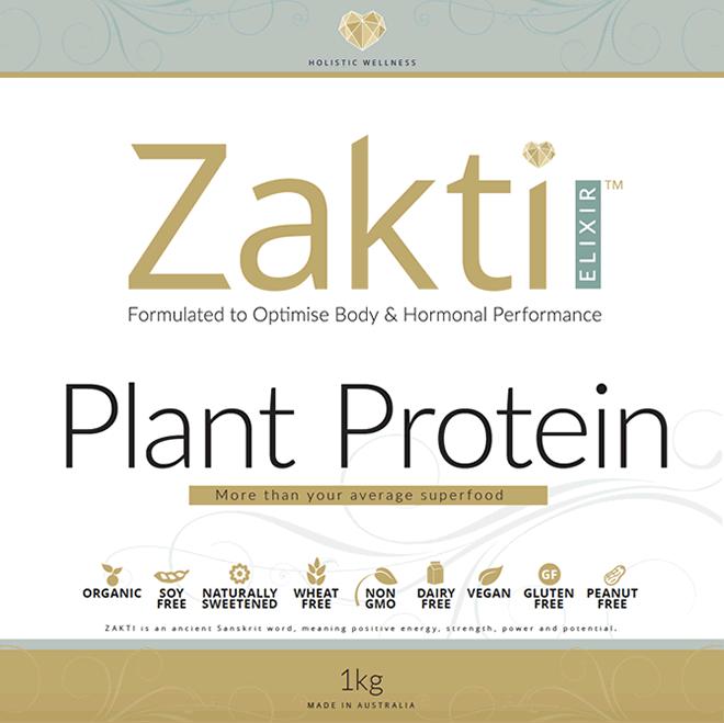 Zakti Elixir Plant Protein