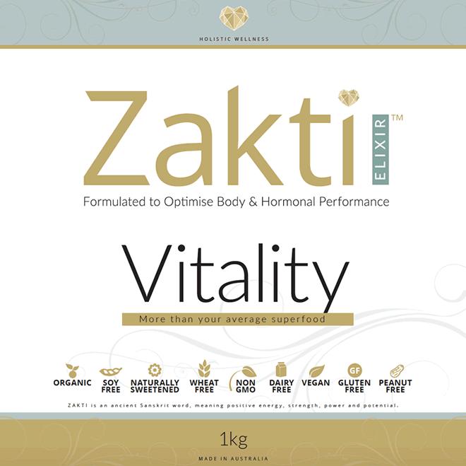 Zakti Elixir Vitality